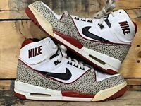 Nike Air Assault High 315064-001 Rare White/Black/ Varsity Red Size 11.5