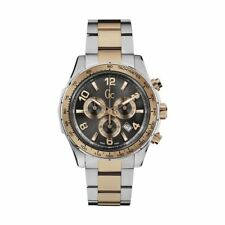 GC Mens Watch X51004G5S Two-Tone Chronograph Swiss Stainless Steel