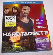 Hard Target 2 Blu-ray and DVD Set
