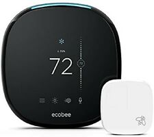Ecobee smart thermostat with voice control. Smart sensor included. Alexa builtin