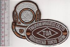 SCUBA Hard Hat Diving Japan TOA Diving Apparatus Co. Ltd Founded in 1924 Acqu br