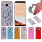 Luxury Glitte Bling Protective TPU Silicone Rubber Soft + PC Back Lot Case Cover