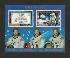 """1970 Grenada """"Philympia 1970"""" Unmounted Mint - only 300 sheets overprinted"""