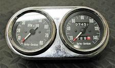 Vintage 1970 HARLEY DAVIDSON Sportster OEM Motorcycle Speedometer/Tachometer