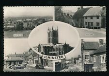 Somerset ILMINSTER M/view used c1960s RP PPC
