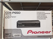 PIONEER CDX-P650 6-Disc IP-Bus Multi CD Player DISC CDX P650 NEW CAR STEREO
