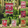 Decor Valentine's Day Love Signs Outdoor Banner/Flag Double Sided Garden Flags