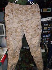 USMC TAN FROG MARPAT  DESERT COMBAT PANT  DEFENDER M   MEDIUM LONG    ML