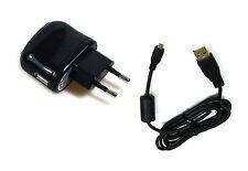 Ladegerät Netzteil und Ladekabel USB Kabel Datenkabel für Olympus VG-120 D-705
