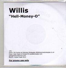 (BT653) Willis, Hell-Money-O - DJ CD