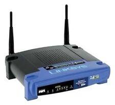Linksys WRT54G 54 Mbps 4-Port 10/100 Wireless G Router ver 2 w DD-WRT firmware