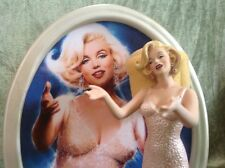 "Marilyn Monroe Bradford Exchange ""Happy Birthday Mr. President"" 3D Signed Plate"