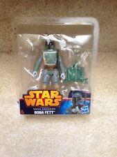 """Star Wars 3.75"""" BOBA FETT Saga Legends SL09 Action Figure LOOSE"""