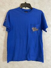 Harley Davidson Sz M Blue Bright graphic Baton Rouge Gators Vintage T-shirt
