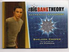Big Bang Theory Season 5 Costume Card M14 Sheldon Cooper