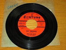 "BLUES 45 RPM - DOCTOR ROSS - FORTUNE 857 - ""CAT SQUIRREL"" + ""THE SUNNYLAND"""