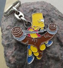 The Simpsons VINTAGE  BART SIMPSON STEEET KIDZ KEY RING LOT OF THREE UNOPENED