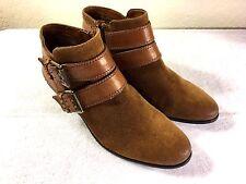 Sam Edelman brown zipper boots booties size 6 M Nice!!