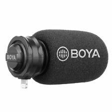 BOYA Shotgun Video Micro Microphone for Smartphone iPhone X 12 11 Pro Max 8 Plus