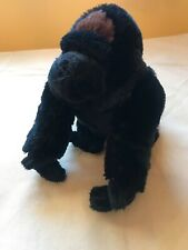 SilverBack Gorilla Ape Monkey Soft Plush Doll