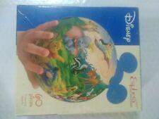 "Disney Puzzle Esphera Globe 60 Pieces 6"" Cast of Characters 360 Sphere USED"