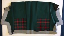 Classic Mini Rear Seat Cushion Cover - Green Tartan/Black - HMA108590HBZ