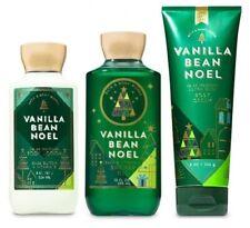 Bath & Body Works vanilla bean noel shower gel body lotion & body cream. New.