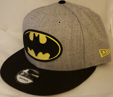 NWT NEW ERA DC COMICS BATMAN logo 9FIFTY SNAPBACK adjustable cap hat