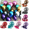 """12"""" METALLIC/Pearlised High Quality LATEX BALLOONS For Decoration/Birthday/Party"""