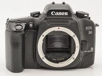 Canon EOS 30 Gehäuse Body Kamera SLR Kamera Spiegelreflexkamera analog