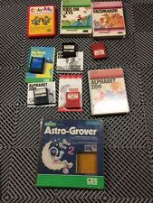 Lot of Commodore 64 Cartridges and Disks with original boxes and instructions