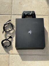 Sony PlayStation 4 pro (último modelo) - 1tb jet negro consola de juegos