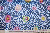 Guinea Flower Kaffe Fassett Rowan Westminster Fibers Cotton Quilt Fabric GP-59