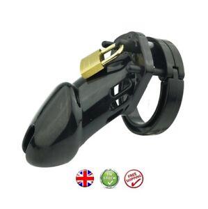 Plastic Male Chastity Cage Device Restraint Men's Cuckold Lockdown Chastity UK