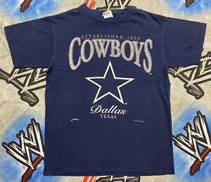 Dallas Cowboys T-Shirt Youth Large NFL 1995 NFL