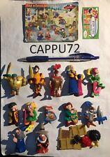 CAVALLEGRI COMPLETA 13 PZ.+13 BPZ GERMANIA DA C16 a C28 kinder sorpresa 2004/05