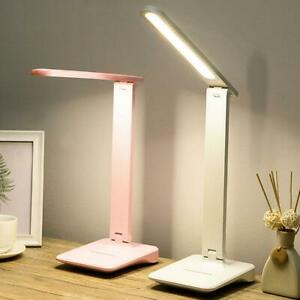 Desk Light Bedside Reading Lamp Dimmable Rechargeable Table Touch Control A A