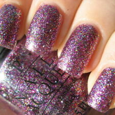 OPI - Show It And Glow It - B07 Burlesque Purple & Rainbow Glitter Nail Polish
