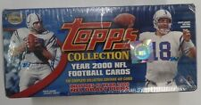 TOPPS Collection 2000 Football Bards 400 Cards Peyton Manning 1092719DBT4