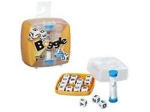Brand New Hasbro Boggle in Plastic Case Game - letters words