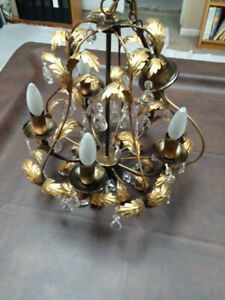 Grapes Petal Chandelier with Crystals - New