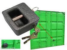 serrure Cadenas sécurité pour CONTENER acier 3 clefs porte de conteneur portail