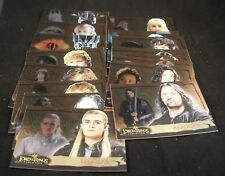 Lord of the Rings EVOLUTION    Level A      Complete Trading Card Set