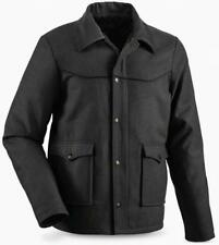 Men's Lightweight Spring / Fall Drover Jacket - Charcoal / Tag Size XL