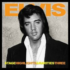 ELVIS PRESLEY - STAGE HIGHLIGHTS & RARITIES THREE -  Elvis Concert Fan Label