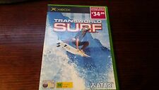 Transworld Surf (Microsoft XBOX) Complete Atari Surfing Retro Trans World Surf