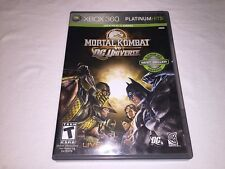 Mortal Kombat vs DC Universe (Microsoft Xbox 360 - Platinum Hits) Complete Exc!
