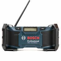 Bosch GML 18VLI 14.4V-18V SoundBoxx Jobsite Radio Body Only 0601429970