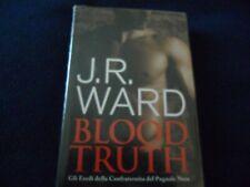 """J.R. Ward """" BLOOD TRUTH """"  Ed. Club"""