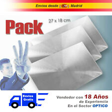 Lupa Folio Fresnel Flexible (Paquete con 3 Uds. )